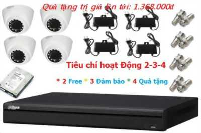 ComBo 4 Camera Dahua HAC-HDW1000RP 1.0 Megapixel