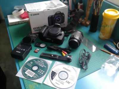 Cần bán: Canon 60d 10kshot+kit 18 55 is stm hàng nhật.