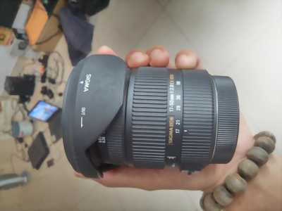 Lens sigma 17-50 fullbox