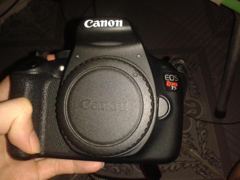 Body Canon Rebel T5
