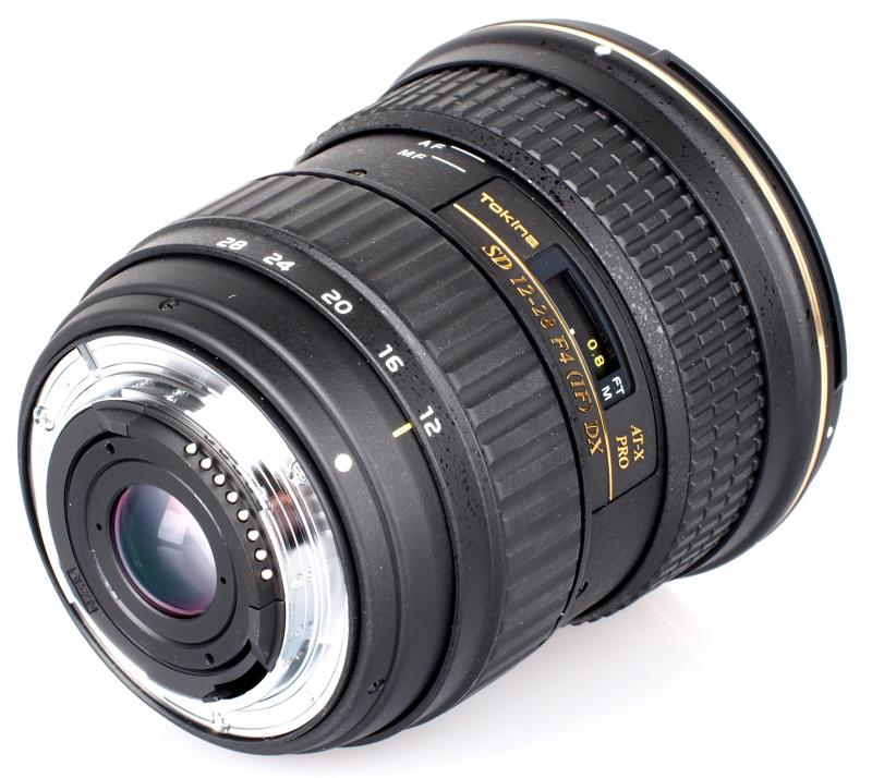 Lens Tokina 12-24 f4 DX for Nikon.