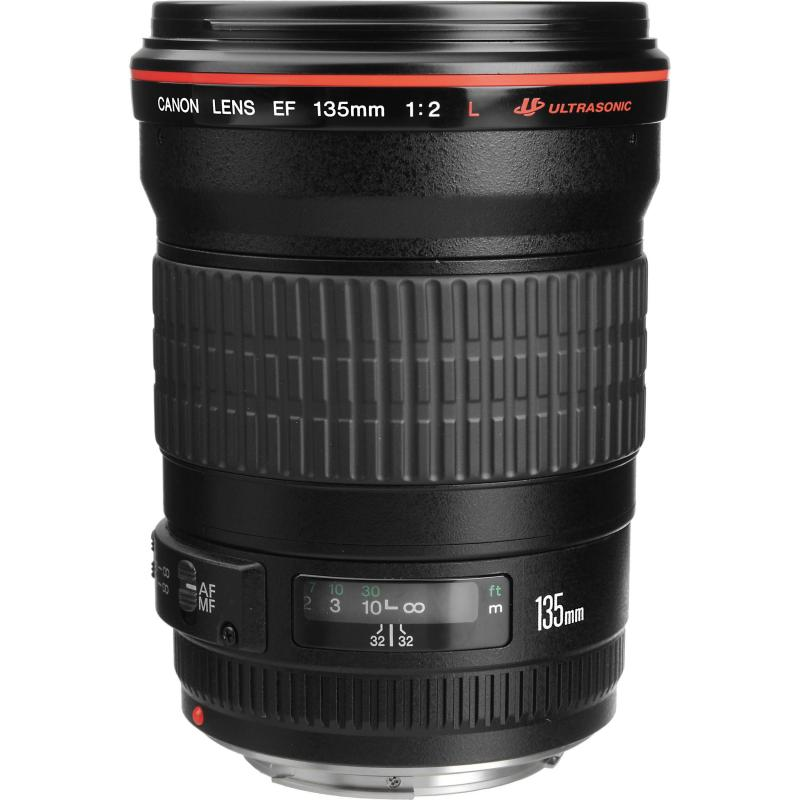 Canon 135mm F2 L code UA