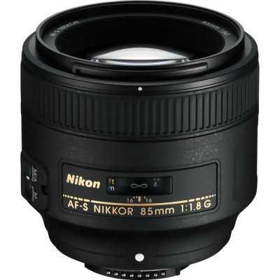 Lens nikon 85 1.8g