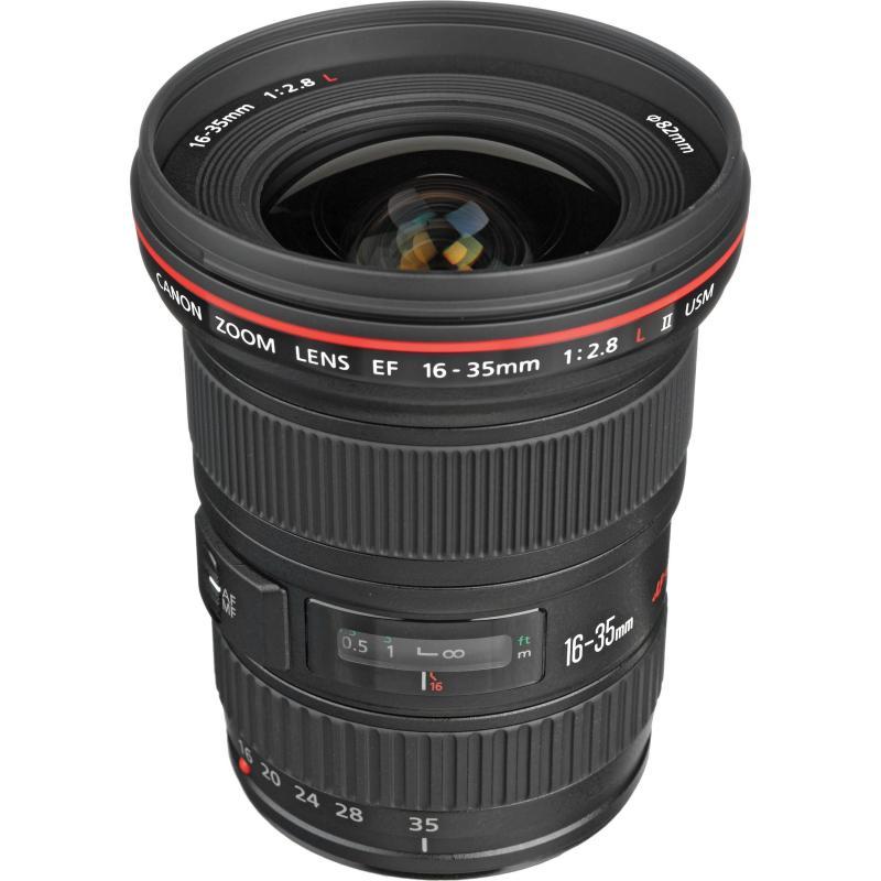 Lens canon 16 35 l f2.8