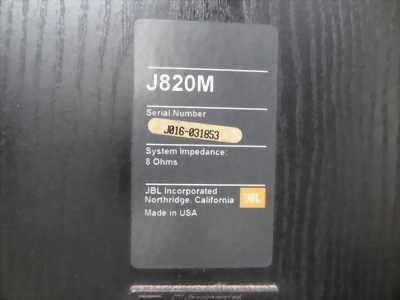 Loa jbl j820m