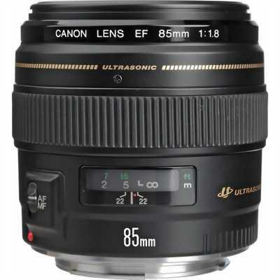 Canon 85f1.8