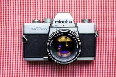 Bán máy film Minolta srt 201 cơ tốc hoàn hảo