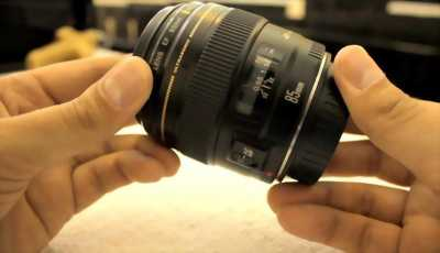 Cần bán len 85 1.8F Canon