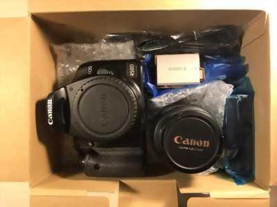 Canon 450D+ lens 50mm xóa phông