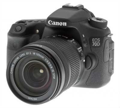 Canon 70D chính hãng LBM + lens kit 18-55STM
