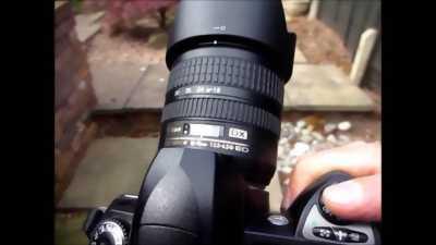 Lens Nikon 18 70 3.5 4.5 G ED