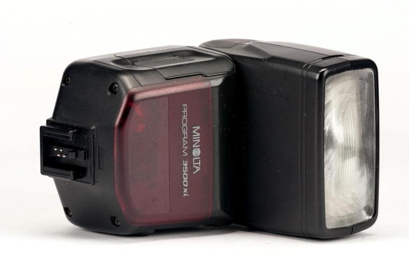 Flash Minolta maxxum Xi 3500