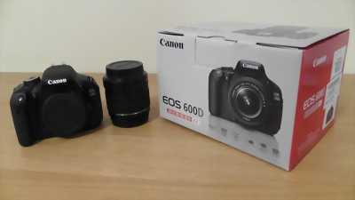 Canon 600D lens 18-55