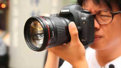 Lens Canon 135 F2 L