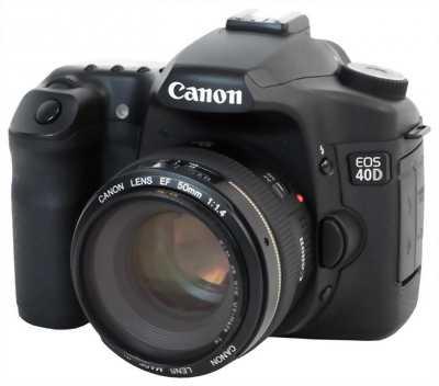 Cần bán Canon 40d lens phụ kiện đầy đủ