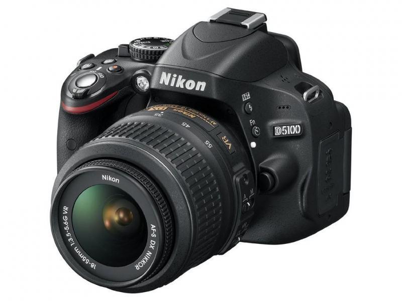 Bán máy chụp hình DSLR nikon D5100 kèm 2 len