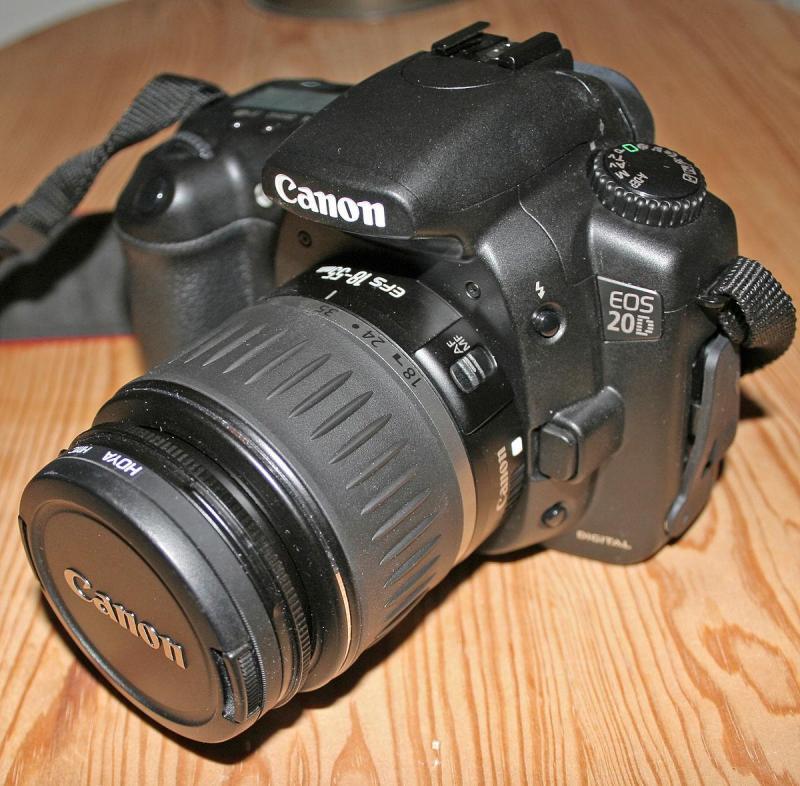Combo máy ảnh canon 20d