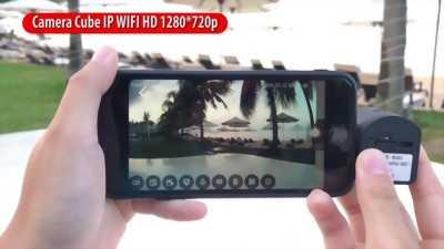 Camera Siêu Nhỏ Cube Quay đêm FULL HD