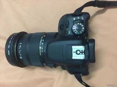 Canon 750d+sigma 17-50 (chính hãng) 99%