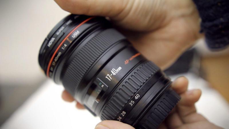 Canon 6D, lens 17-40mm L