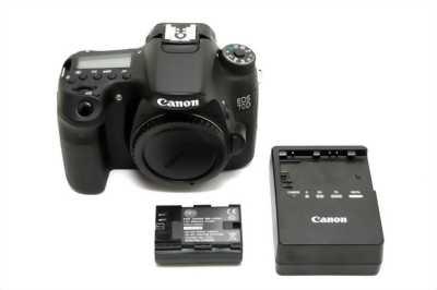 Canon 450D + len + flash + full phụ kiện