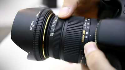 Sigma 17-50mm for canon