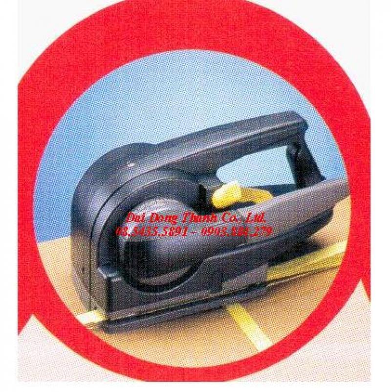 dụng cụ siết dây đai pet xuất sứ đài loan dùng pin P-323 giá rẻ tại Bình Phước