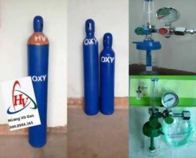 Bình khí oxy dùng trong y tế