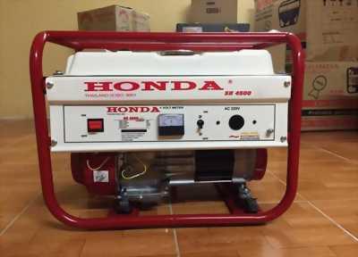 Máy phát điện honda SH 4500E chạy xăng_3kw