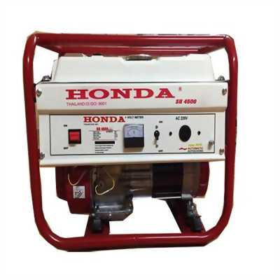 Máy phát điện honda SH 4500C chạy xăng_giật tay