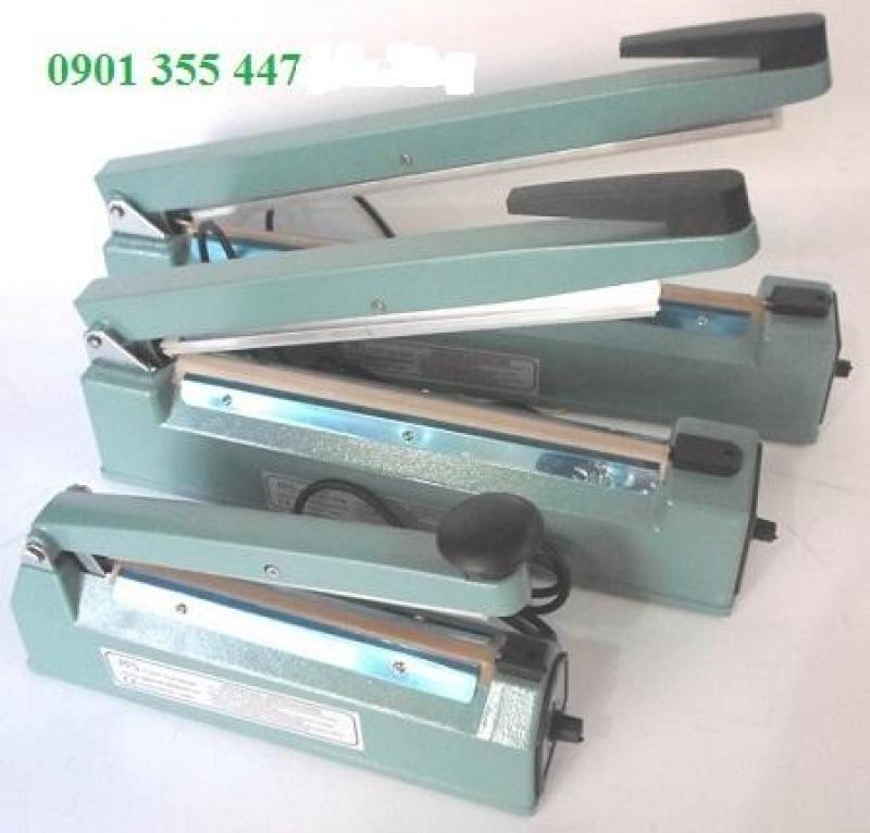 Máy ép túi pp,pe,pvc, nhôm xuất sứ Đài Loan  đạp chân PFS-600 giá tốt tại HCM