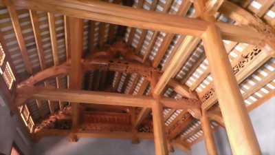Bán nhà gỗ xoan 4 gian
