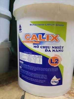 Mỡ chịu nhiệt đa dụng Calix L2 xô 17Kg