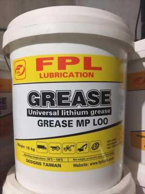 Mỡ Lithium đa dụng Grease FPL L00 xô 15Kg