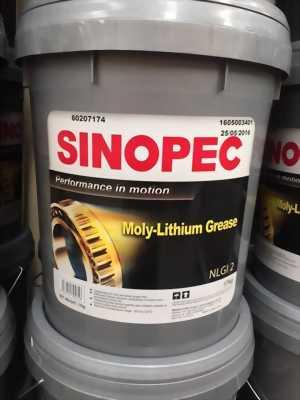 Mỡ Phấn Chì SINOPEC Moly Grease NLGI 2 xô 17Kg