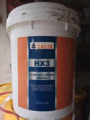 Mỡ siêu chịu nhiệt CALIX HX3 xô 17Kg