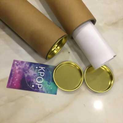 Cung cấp ống giấy tube đựng tranh, album ảnh có nắp sắt