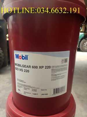 Dầu bánh răng Mobil Gear 600 XP 220 xô 20L