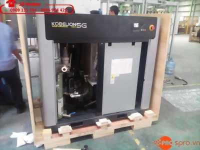 Cần bán máy nén khí trục vít kobelco 100% nhập khẩu Nhật Bản