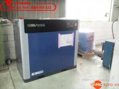 Máy nén khí trục vít ngâm dầu kobelco sg15a