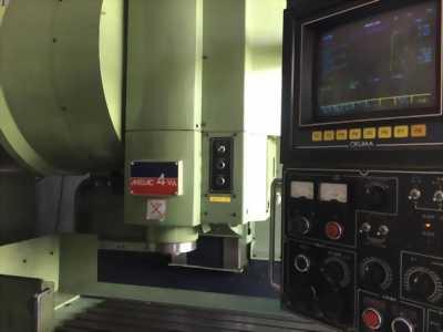 Bán máy phay CNC Okuma Millac 4VA