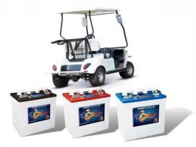 Ắc quy xe điện, xe nâng người US. Battery (U.S.A)