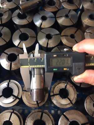 Collet máy Tiện CNC nguyên lô