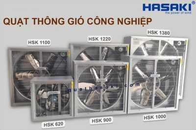 Phân phối quạt thông gió công nghiệp Hasaki HSK