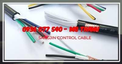 Cáp điều khiển Sangjin, Dây cáp điện điều khiển nhập khẩu
