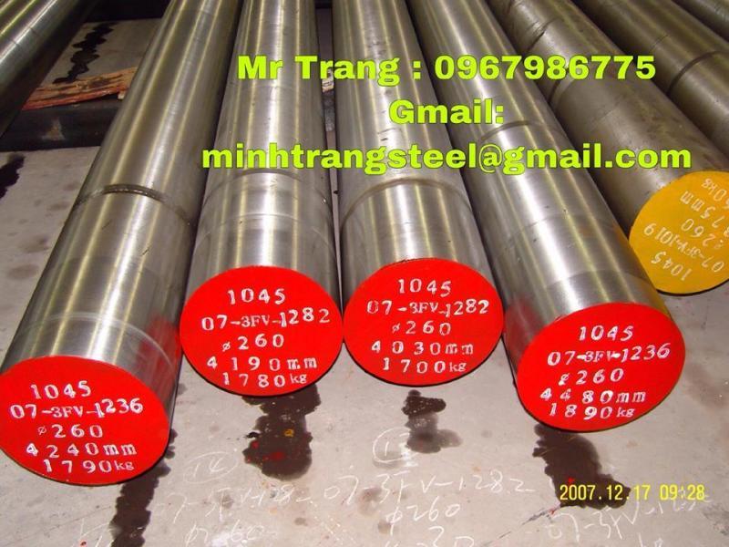 Trục rèn inox sus304/316L/310S/420J1/420J2