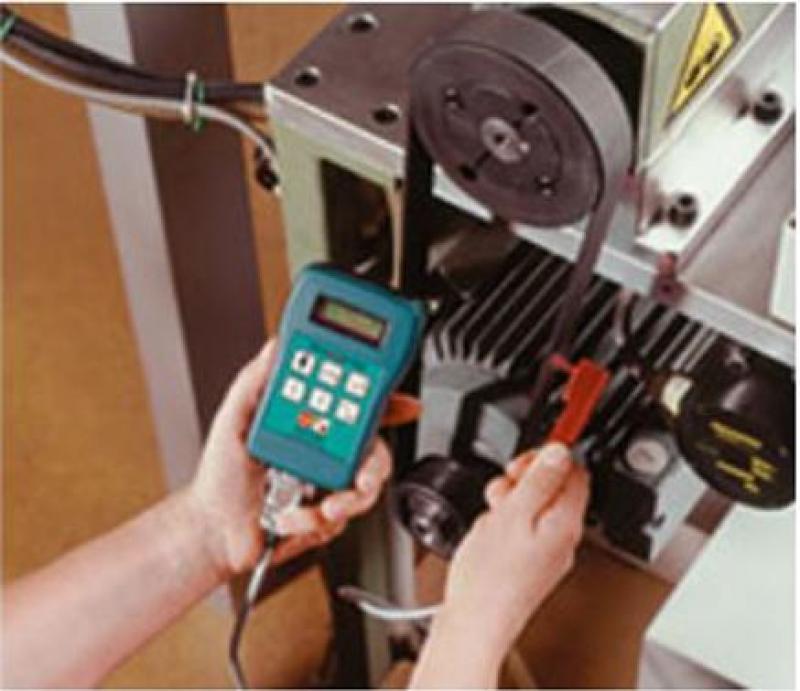 Máy đo lực căng dây đai, máy đo lực căng đai truyền động