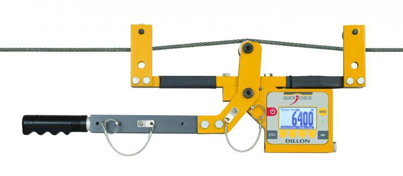 Máy đo lực căng cáp thép trạm BTS cầu trục