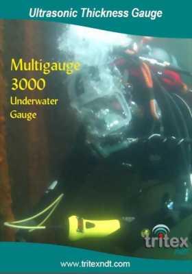 Máy đo chiều dày thép, đo chiều dày kim loại dưới nước, đo chiều dày vỏ tàu