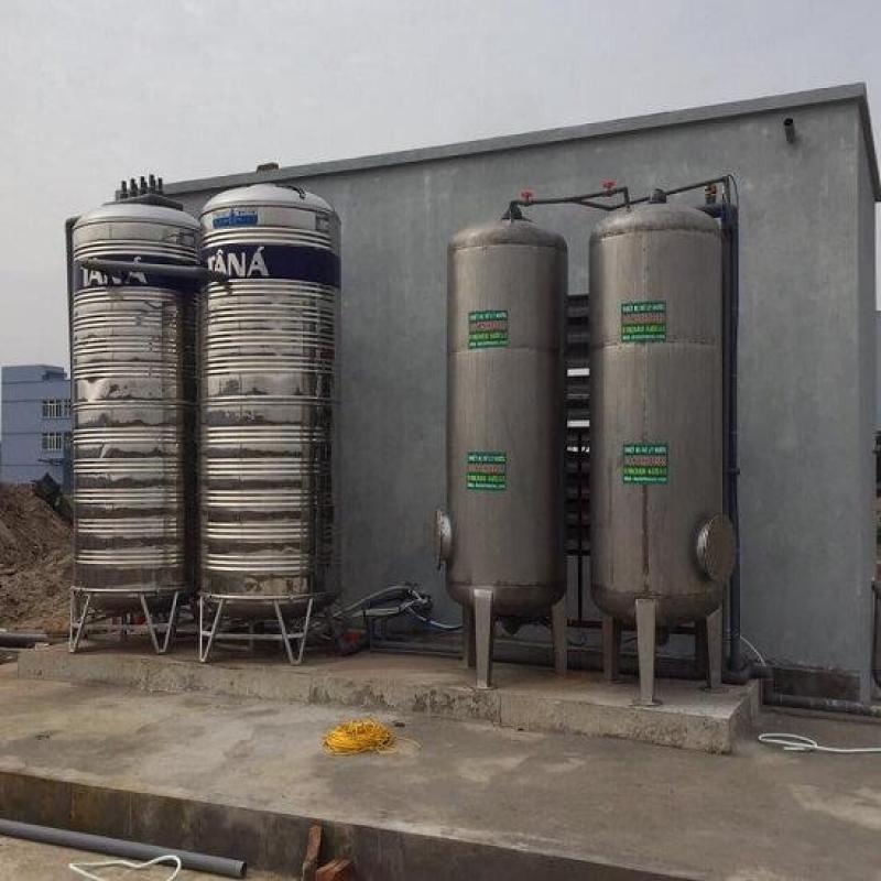 Lọc nước giếng khoan công nghiệp, báo giá trong 5 phút
